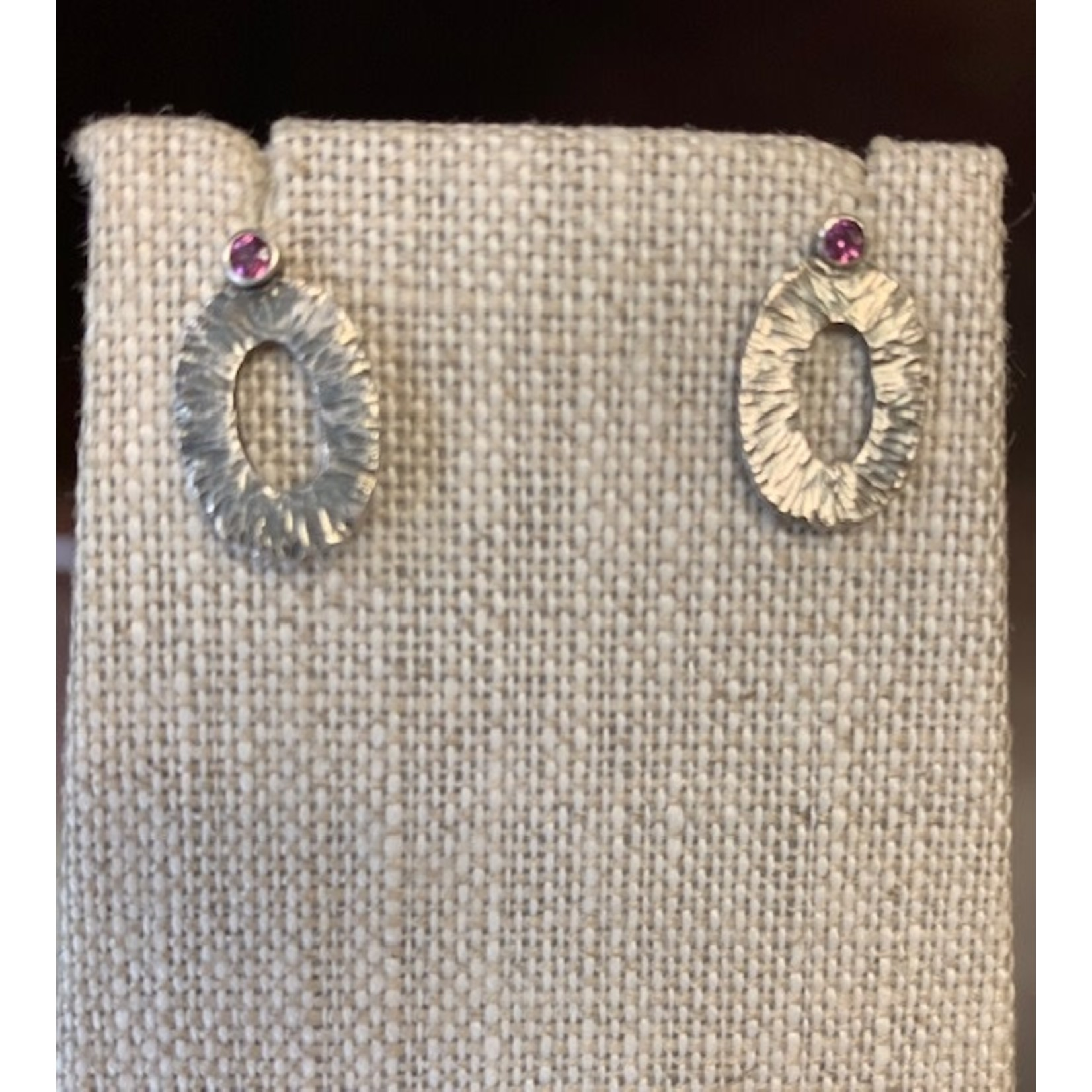 Beth Lonsinger Beth Lonsinger rubellite garnet earrings