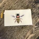 Brooke LeAnne Brooke LeAnne   Bee Happy zipper bag