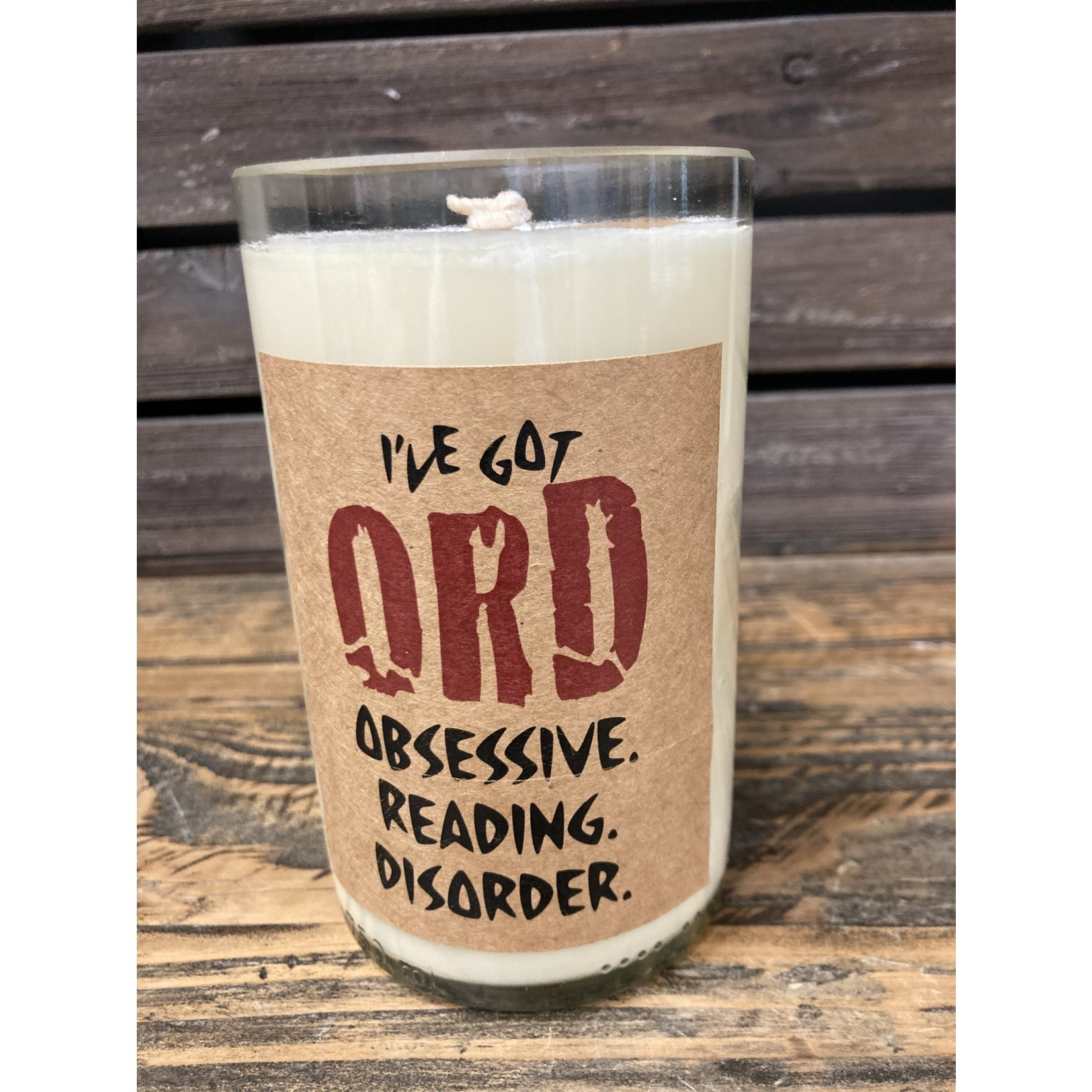 Susan Cowher Candles Uncorked I've got ORD white | Cab sauv