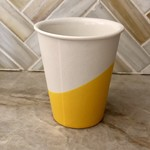 Candy Relics Candy Relics | Porcelain Rubber Paper Cup | Yellow