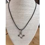 Connie Pardini Connie Pardini sterling square necklace