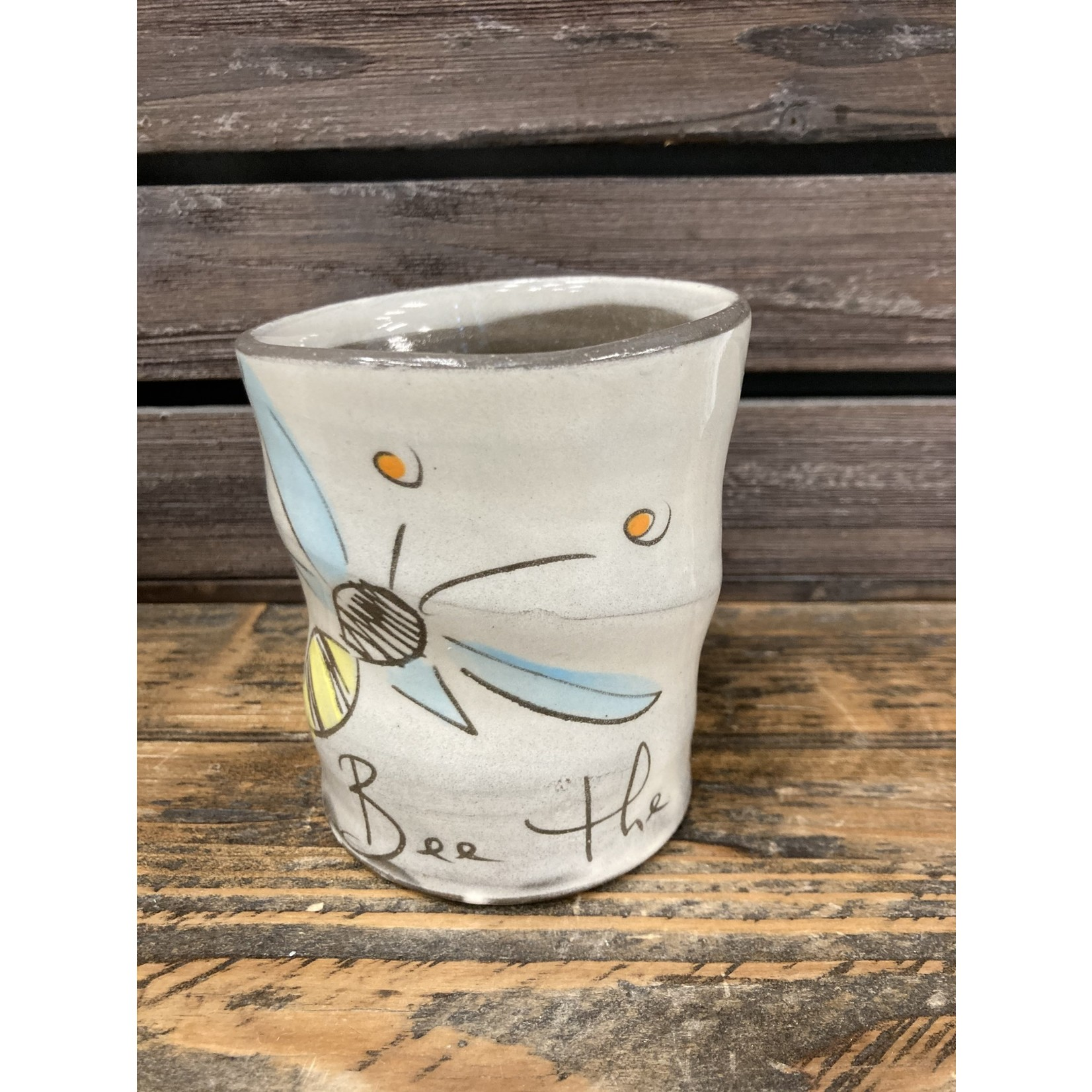 Z Pots   Ceramic ( Bee the change ) cup