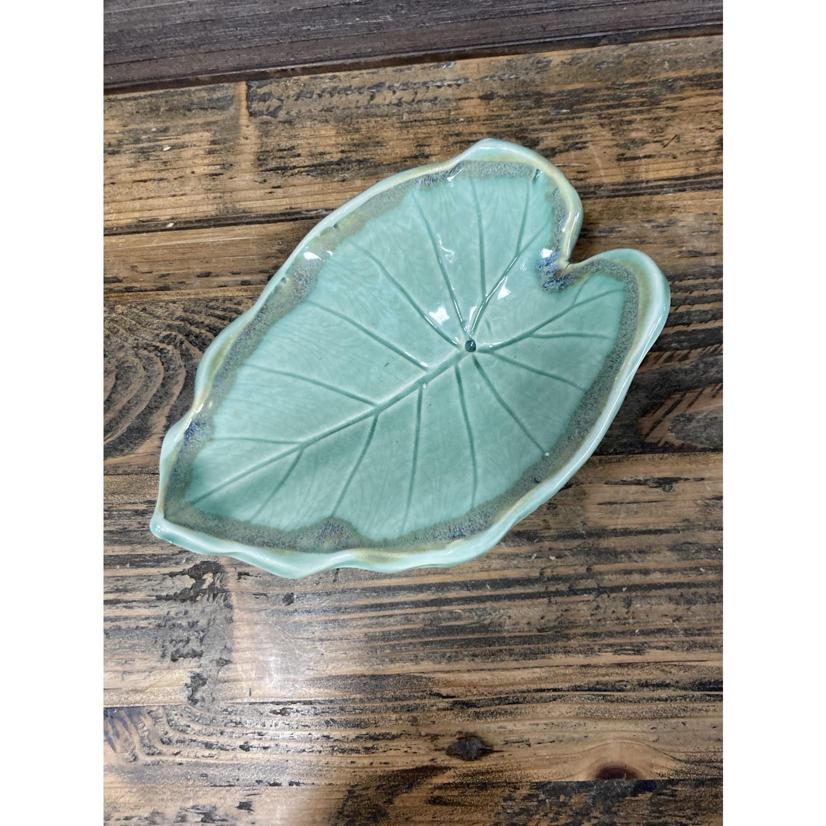 Karen McKee Karen McKee pottery # 4 elephant ear dish