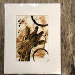 Craig Peterson Craig Peterson | coffee stained watercolor | Giraffe