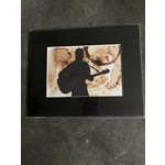 Craig Peterson Craig Peterson | Man with guitar coffee stain watercolor