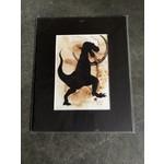 Craig Peterson Craig Peterson | dinosaur coffee stain watercolor