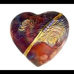 J. Davis Studio J. Davis Studio innerSpirit Rattle - Starry Night - Heart