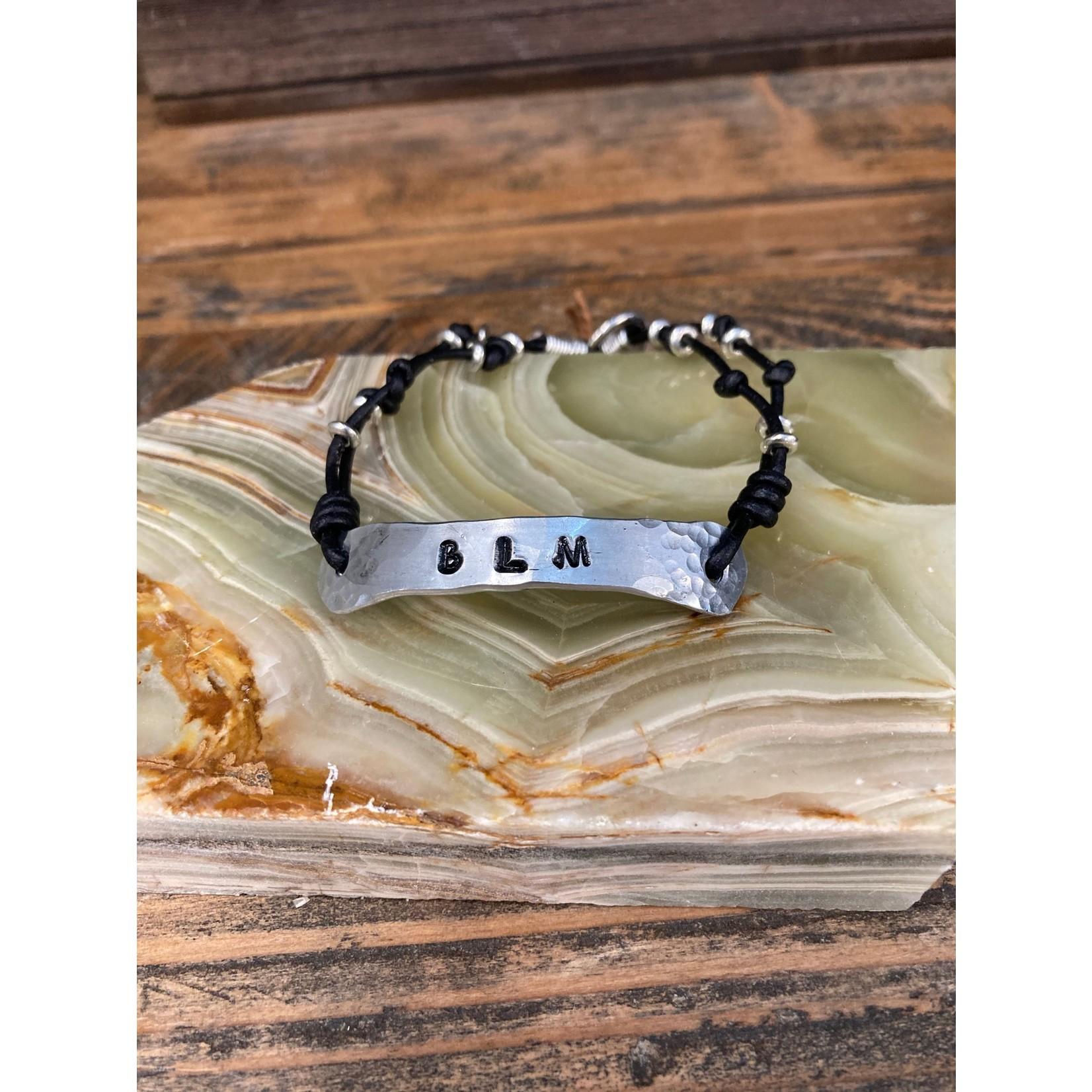 Julia Jones JMJ Designs 1120-1 BLM Single Leather Wrap