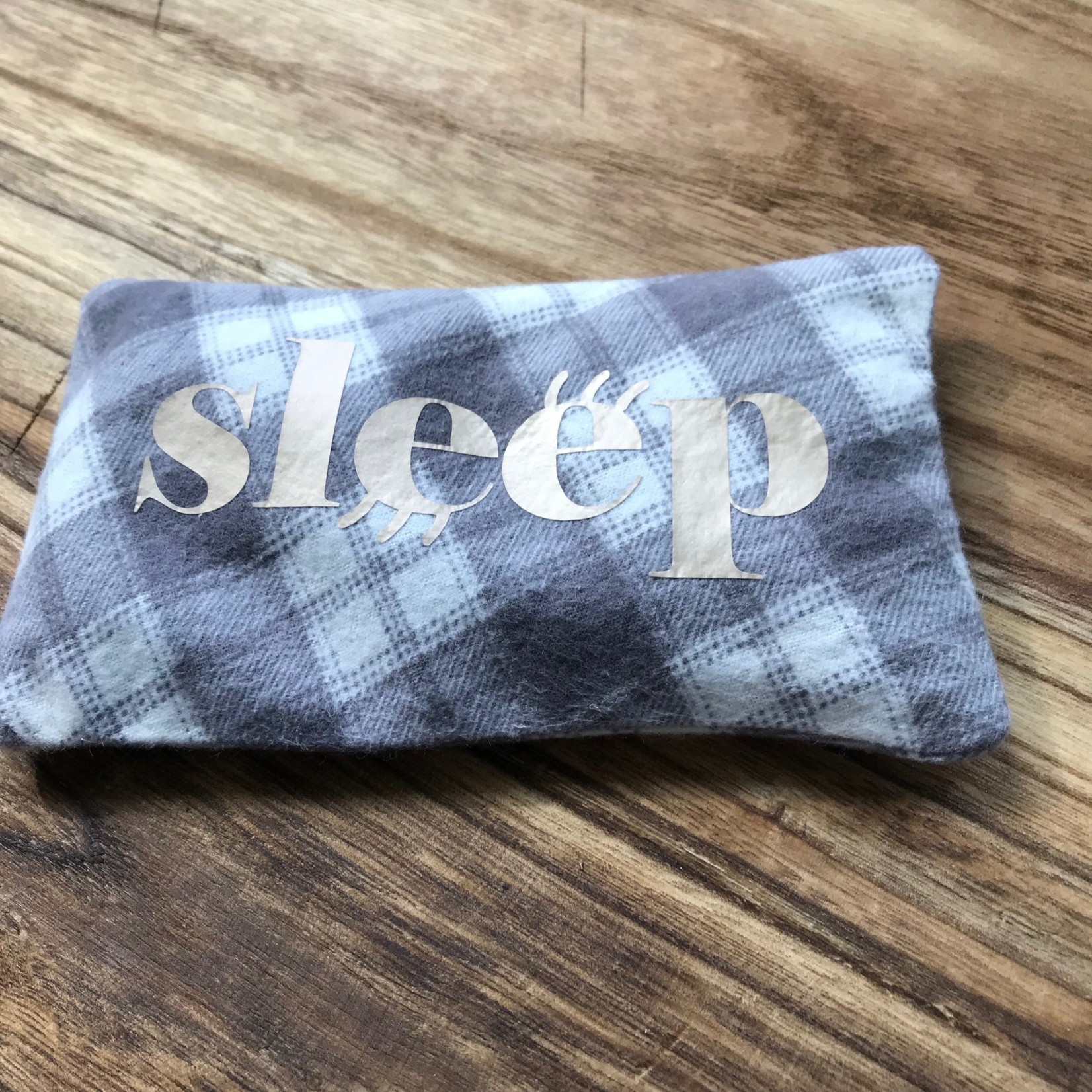 Woodhouse Remedies Woodhouse Remedies Eye Pillow - Gray/White Check