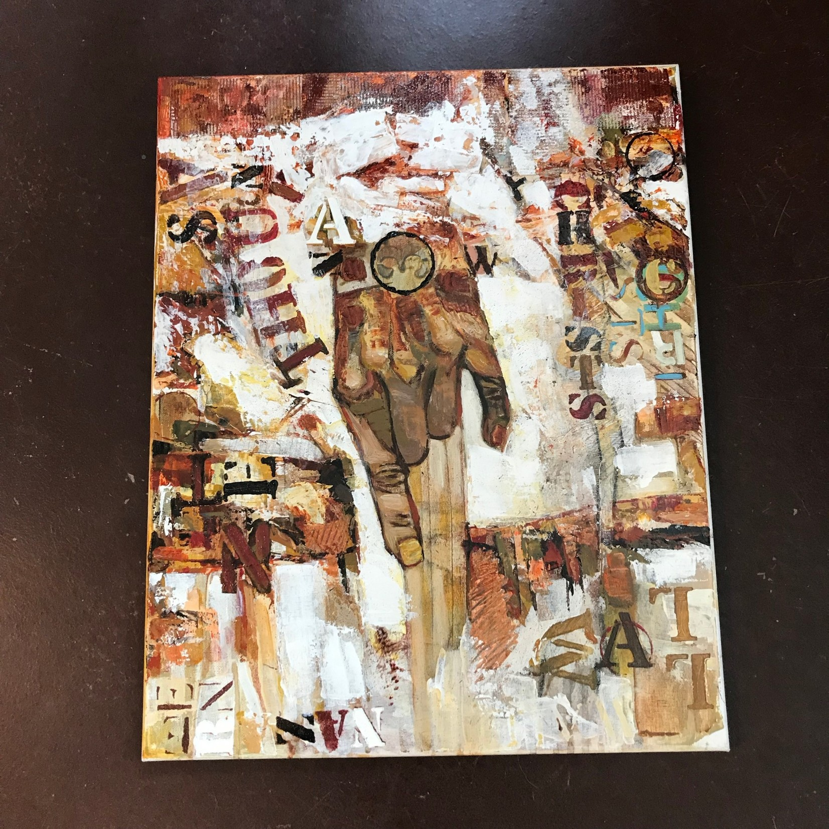 "Michael Pezzulo Michael Pezzulo ""Ten Thousand Christs (Wall of the Nazarene)"" Acrylic Original Artwork"