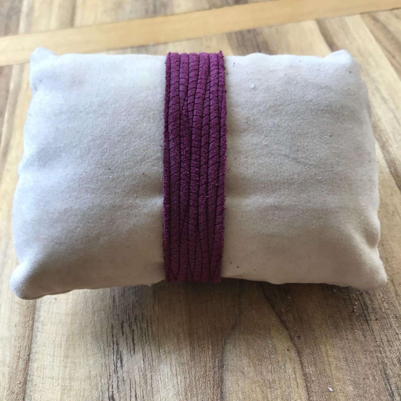 molliPOPdesign molliPOPdesign Palm Texture Skinny Cuff Bracelet