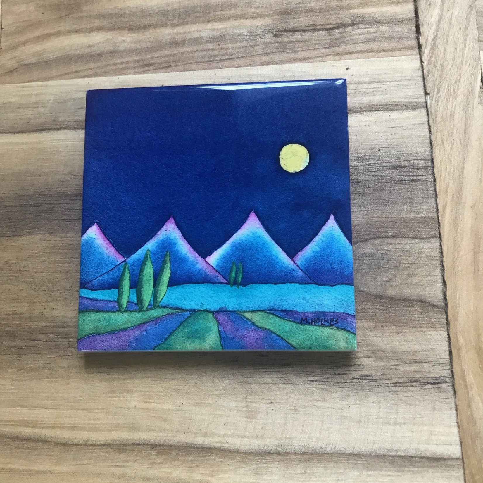 Mary Holmes Mary Holmes Tile Cypress Moon