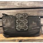 KOMPANERO KOMPANERO Leather Handbag - Celine in Black