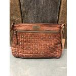 KOMPANERO KOMPANERO Leather Handbag - Elise in Cognac