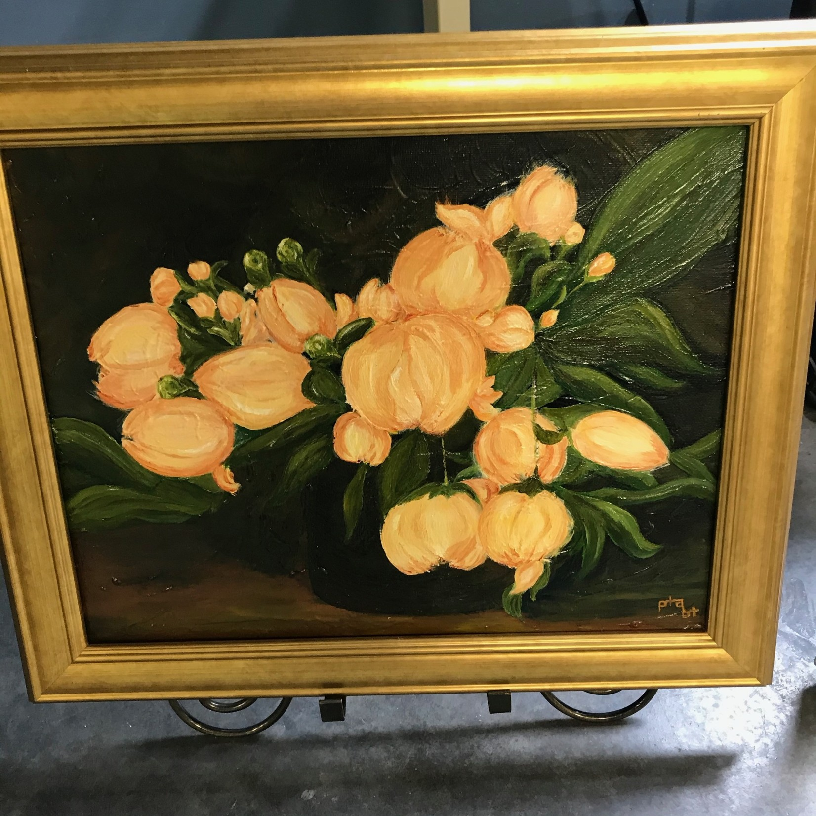 Pamela Abdalla Pamela Abdalla Painting - Peonies