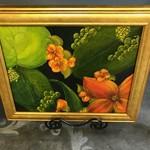 Pamela Abdalla Pamela Abdalla Painting - Floral Landscape