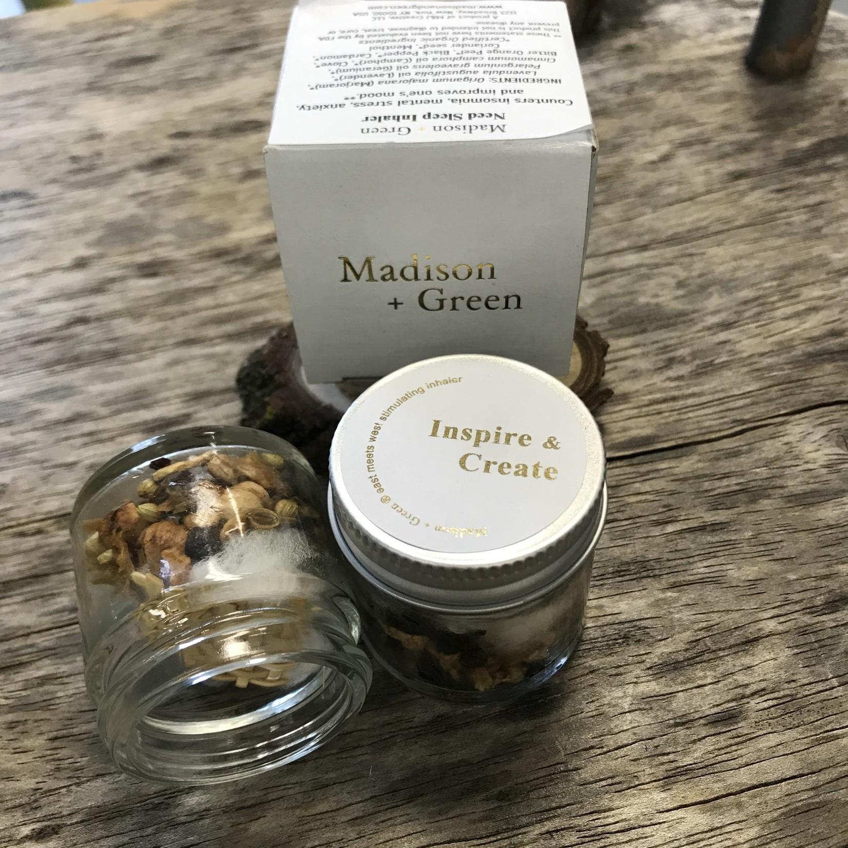 Madison & Green Madison + Green Inhaler - Need Sleep Inhaler