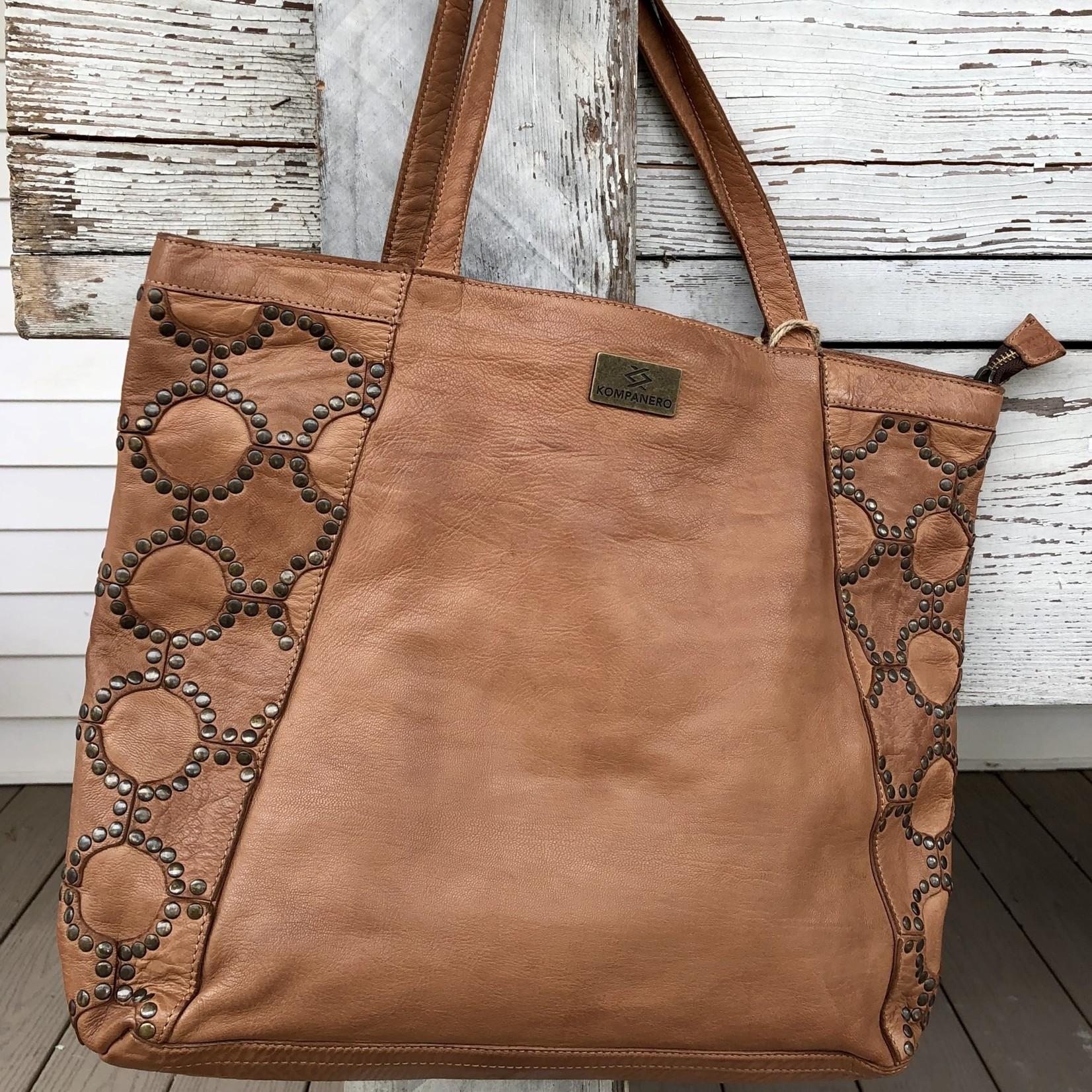 KOMPANERO Kompanero   Large Leather Shoulder Bag