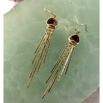 Rachel Atherley Rachel Atherley Jellyfish Earrings 18k gold and Pink Tourmaline Slices