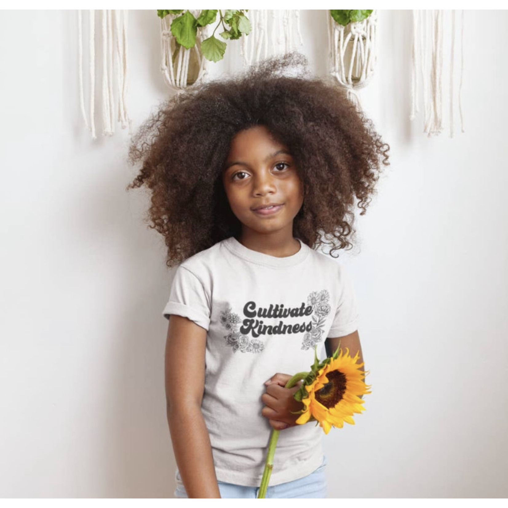 Funnel cake tree Funnel cake tree| Small cultivate kindness youth graphic tee