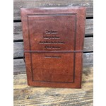 Soothie Leather Journal   The future belongs   cognac (Soothi)