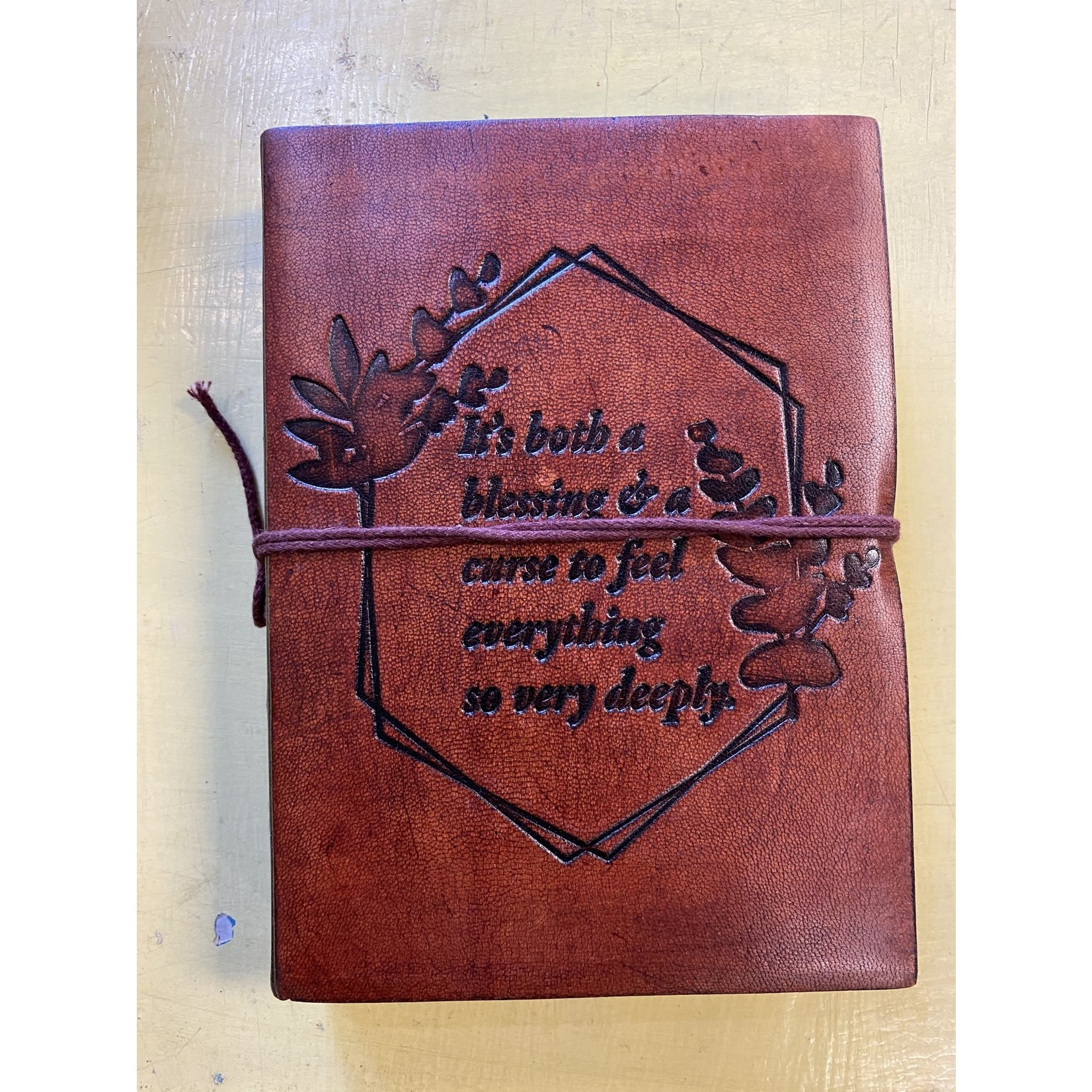 Soothi Leather Journal|  Feeling Deeply (Soothi)