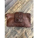 KOMPANERO Kompanero leather purse|  Celine in Cognac