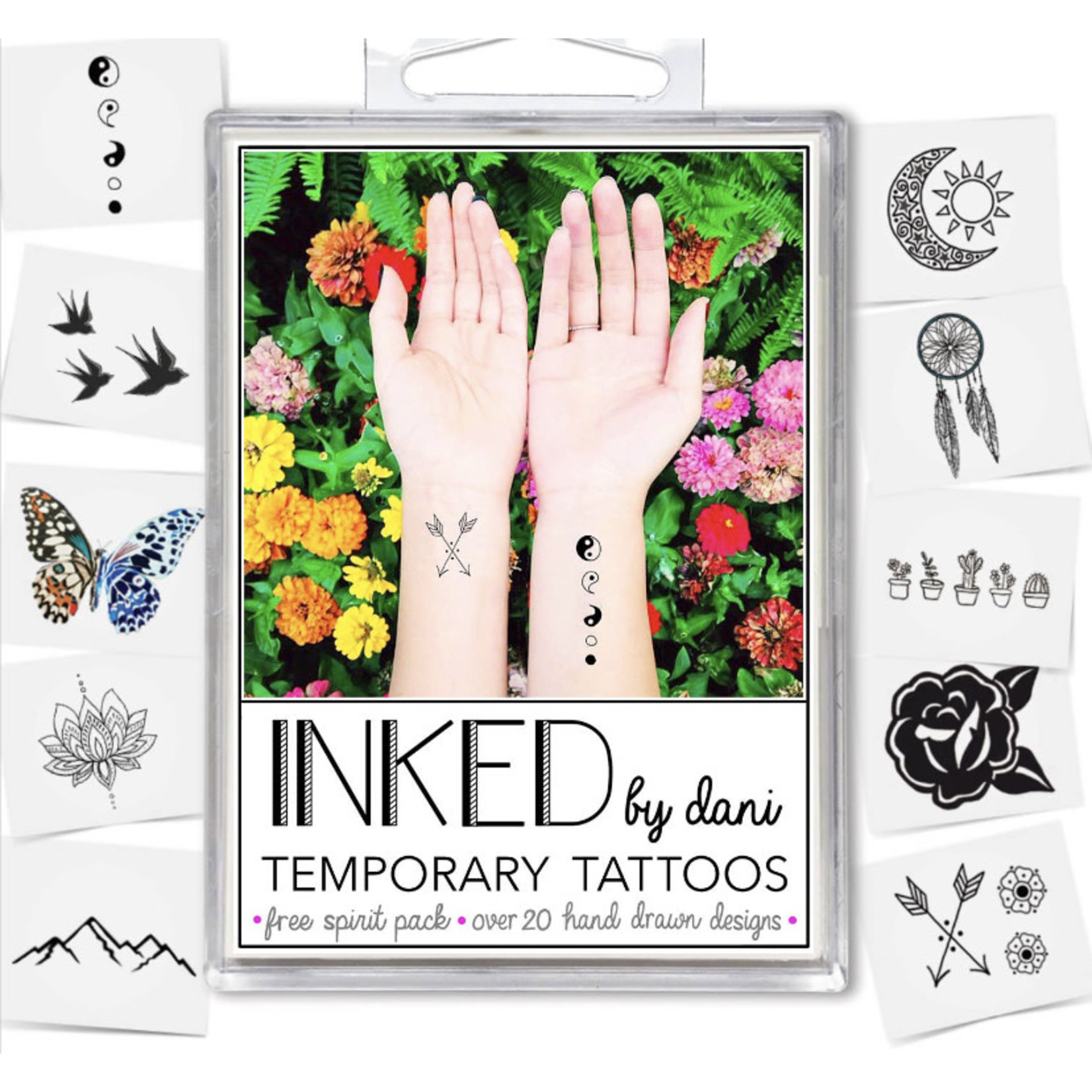 Inked by Dani INKED | Tempory tattoo pack- Free Spirit