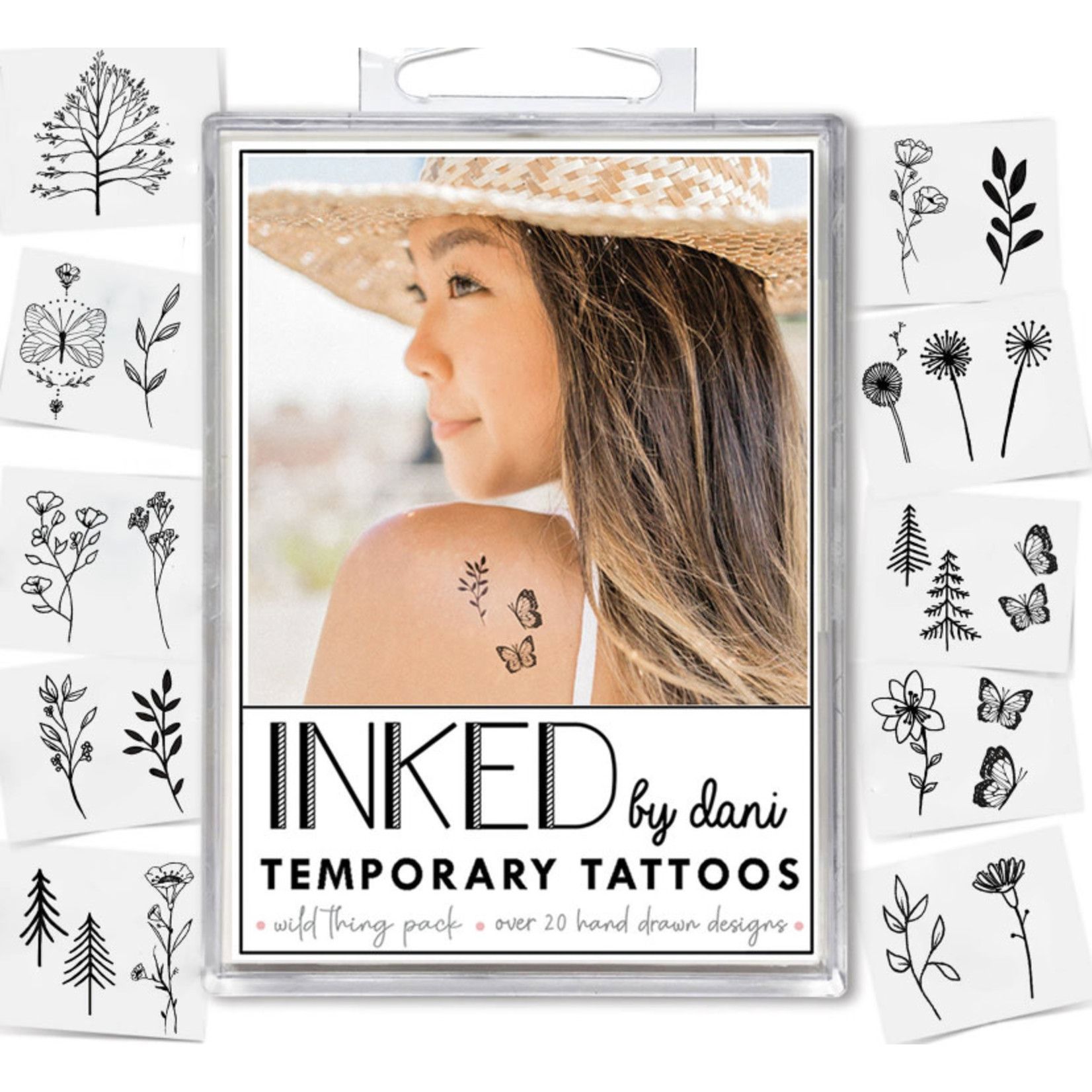 Inked by Dani INKED Tempory tattoo pack- Wild Thing
