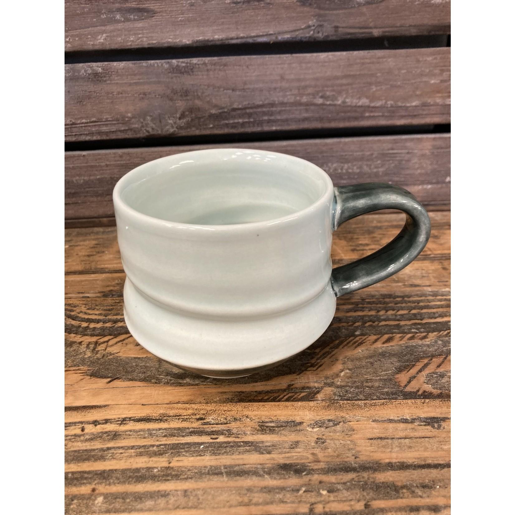 Karen McKee Karen McKee pottery 160 Mug celedon