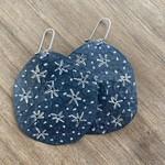 Silverheart Silverheart | Guillermo Arregui Star oxidized textured earrings