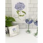 Bebe Blu Designs Bebe Blu Designs | Lacecap Hydrangea flour sack towel