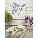 Bebe Blu Designs Bebe Blu Designs | Lilac flour sack towel