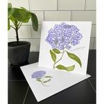 Bebe Blu Designs Bebe Blu Designs   Lacecap Hydrangea sq; Note Card Set