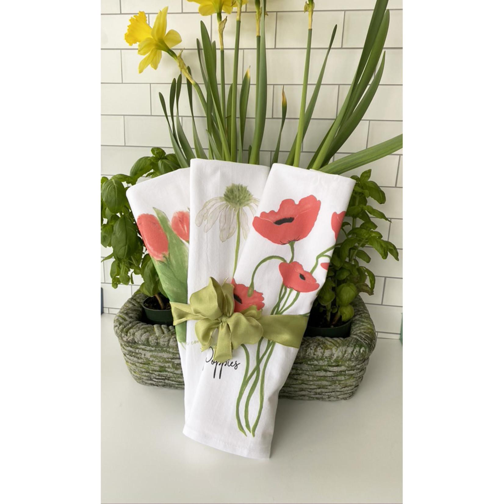 Bebe Blu Designs Bebe Blu Designs | red poppy guest towel