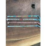 Pamela Cashdollar Pam Cashdollar   Skinny Bead loomed bracelet  asst colors