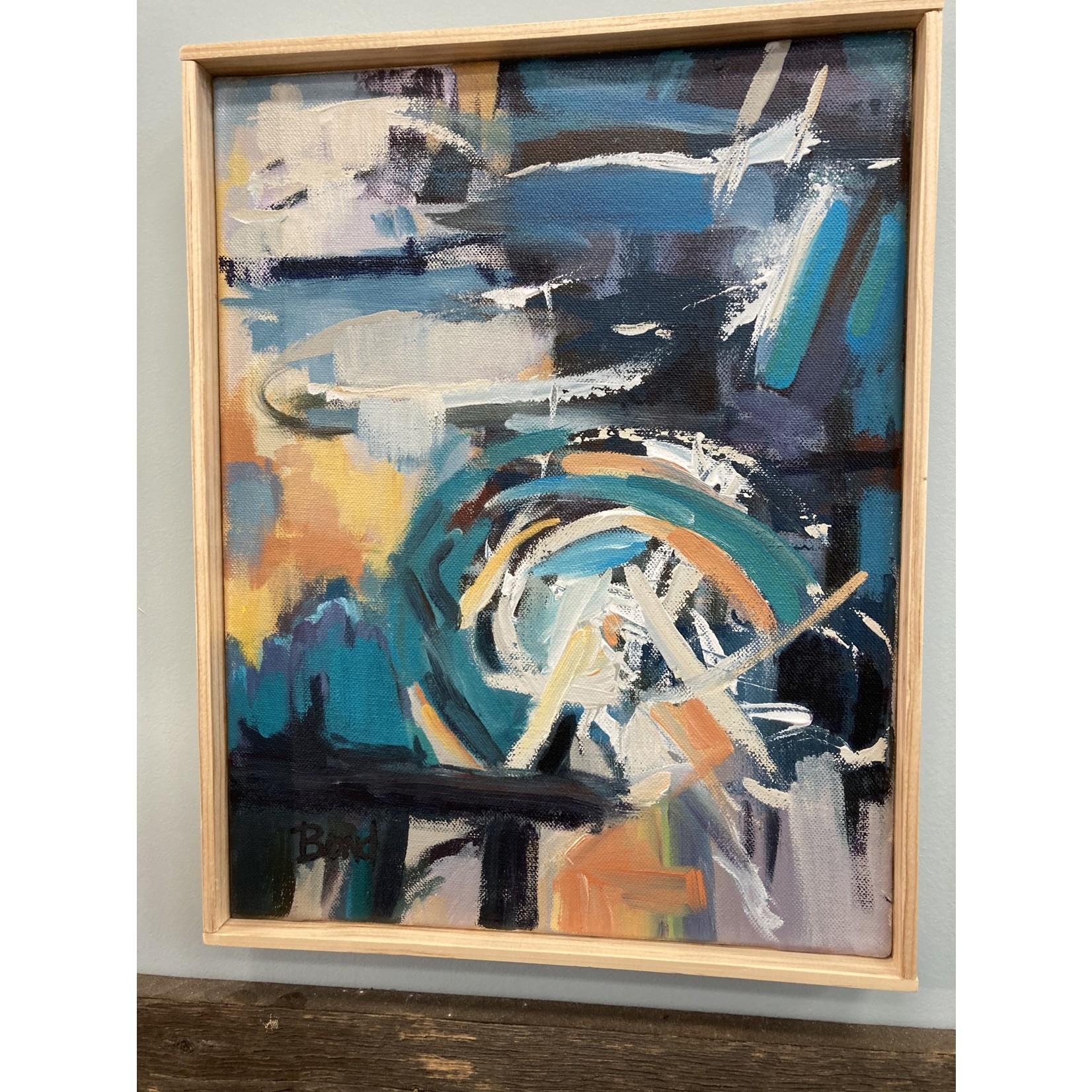 """John J Bond John J Bond Acrylic on Canvas """"  Covid 2020"""""""