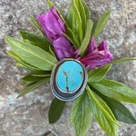 Silverheart Silverheart | Sterling Silver Oval Turquoise Ring
