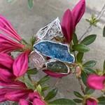 Silverheart Silverheart | Kynite, Peridot, Rose Quartz Designer Sterling Ring