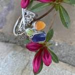 Silverheart Silverheart | Kynite, Peridot, Carnelian Designer Ring