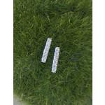 So Me So Me Designs | White gold diamond bar earring