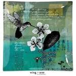 Museware Museware Hummingbird Plate