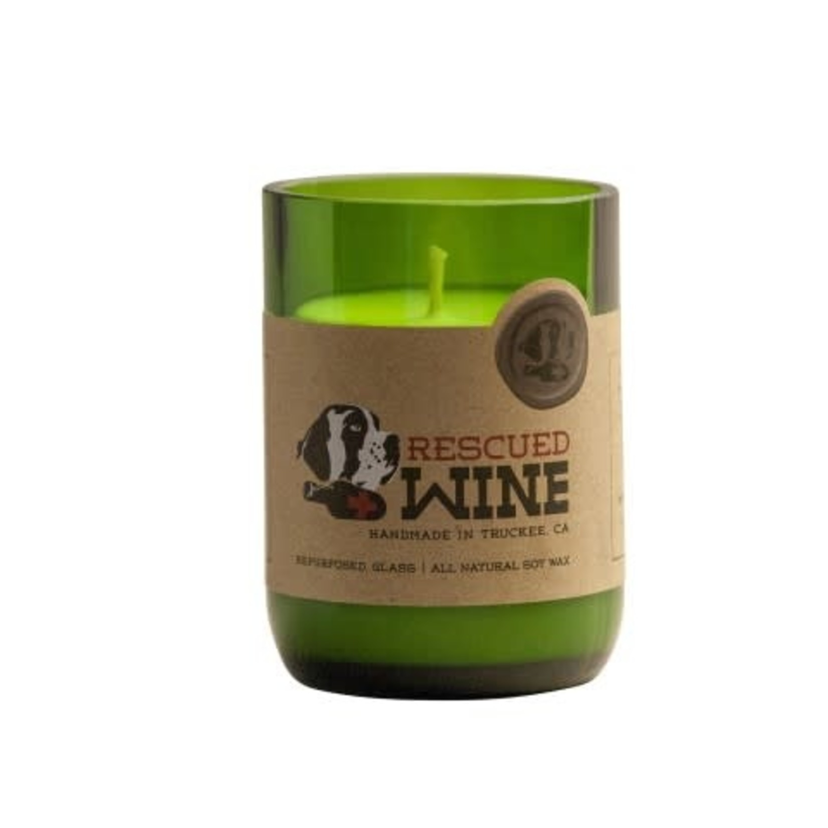 Rescued Wine Rescued Wine Candles -Chardonnay
