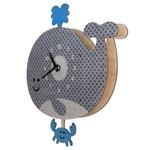 modern Moose Modern Moose Clock - Pendulum - Whale