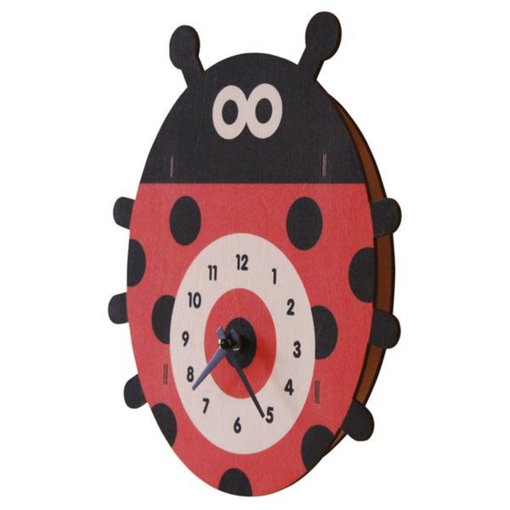 modern Moose Modern Moose Clock - Ladybug