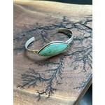 Katherine Thompson Sterling & Stone | Turquoise Cuff