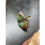 Katherine Thompson Sterling & Stone | Double Stone Turquoise Ring