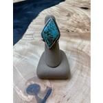 Katherine Thompson Sterling & Stone | Diamond Shaped Turquoise Ring