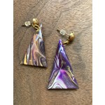 Hannah Wilson Hannah Eli Art | Kenyon triangle earrings