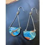 Hannah Wilson Hannah Eli Art | Orange Julius scoop earrings